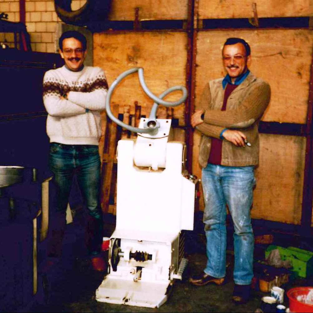 1986 - first sold machine