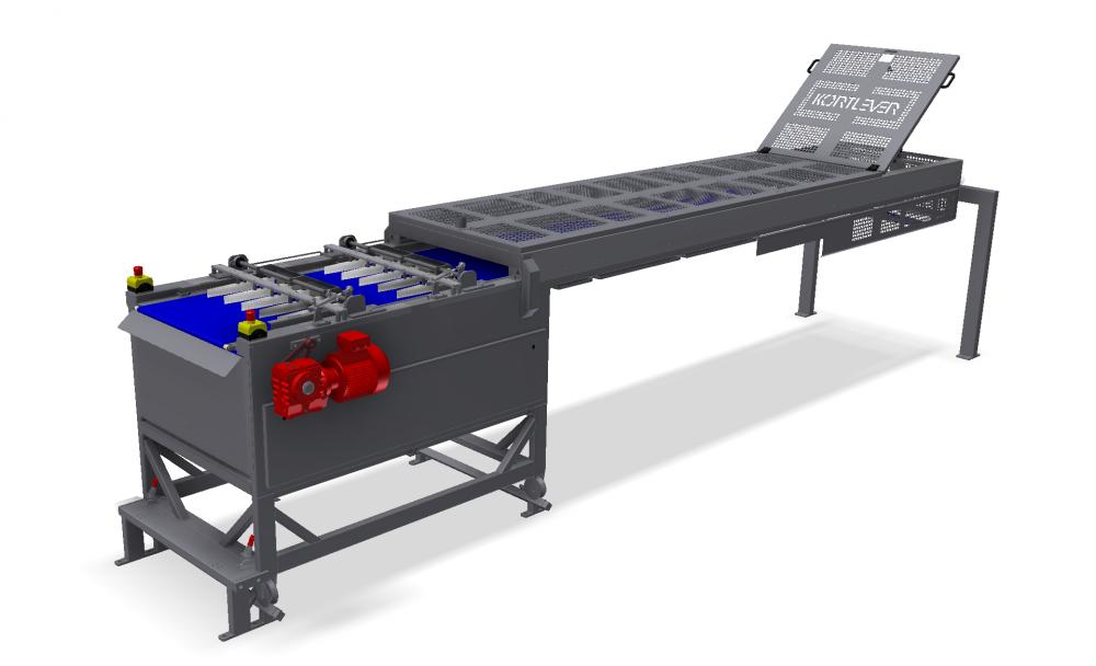 Kortlever conveyor