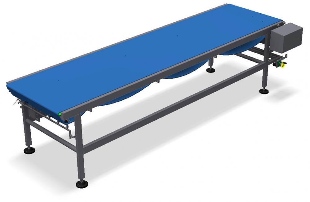 Kortlever conveyor PU