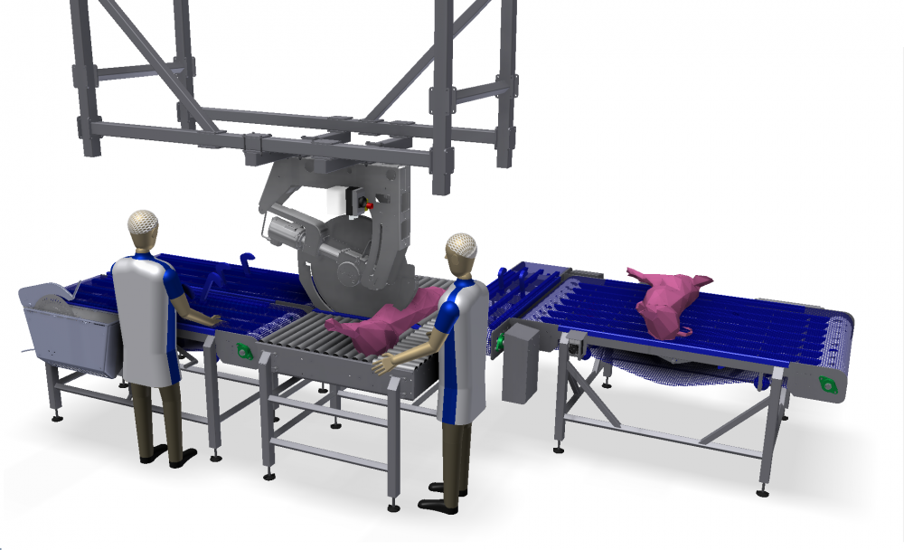 Kortlever cutting systems